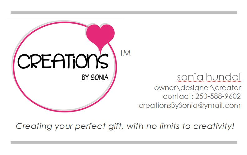 Creations By Sonia