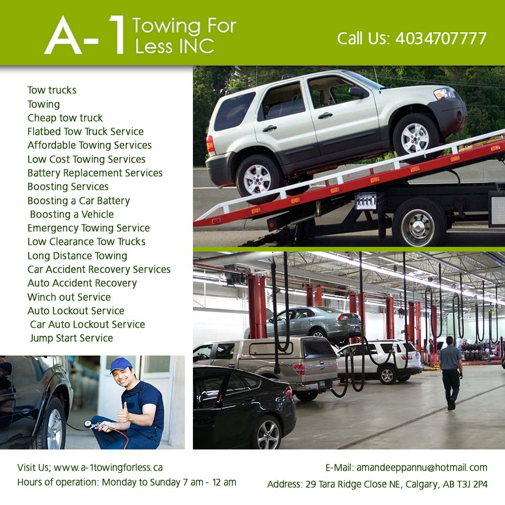 A-1 Towing For Less INC |